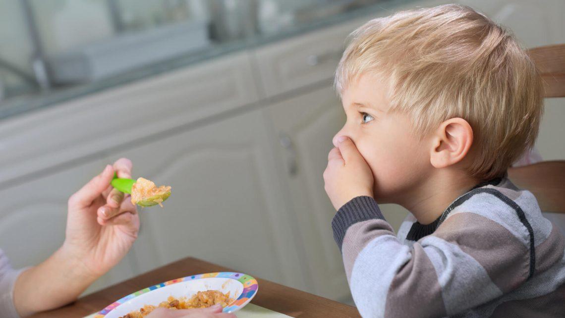 Kind möchte nicht essen