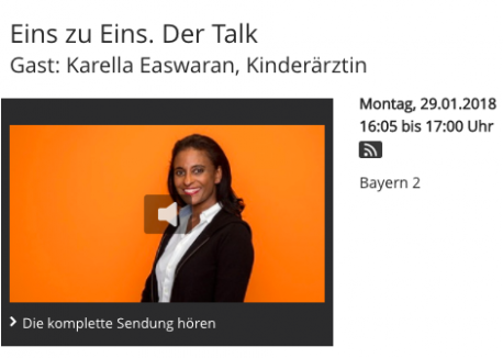 Eins zu Eins Talk - Karella Easwaran