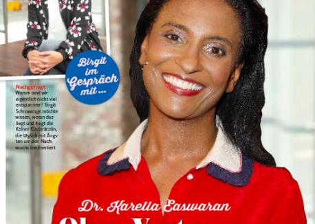 Karella Easwaran - Zeitschrift Lust auf mehr